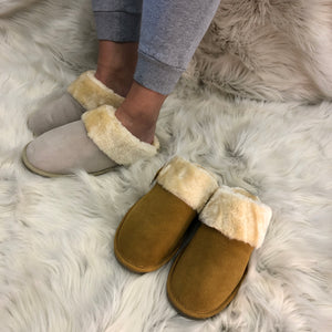 Mokkers Real Suede Slippers