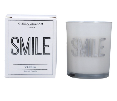 Gisela Graham 'SMILE' Scented candle
