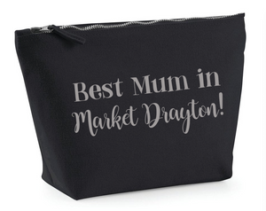 Best Mum in Market Drayton make up bag
