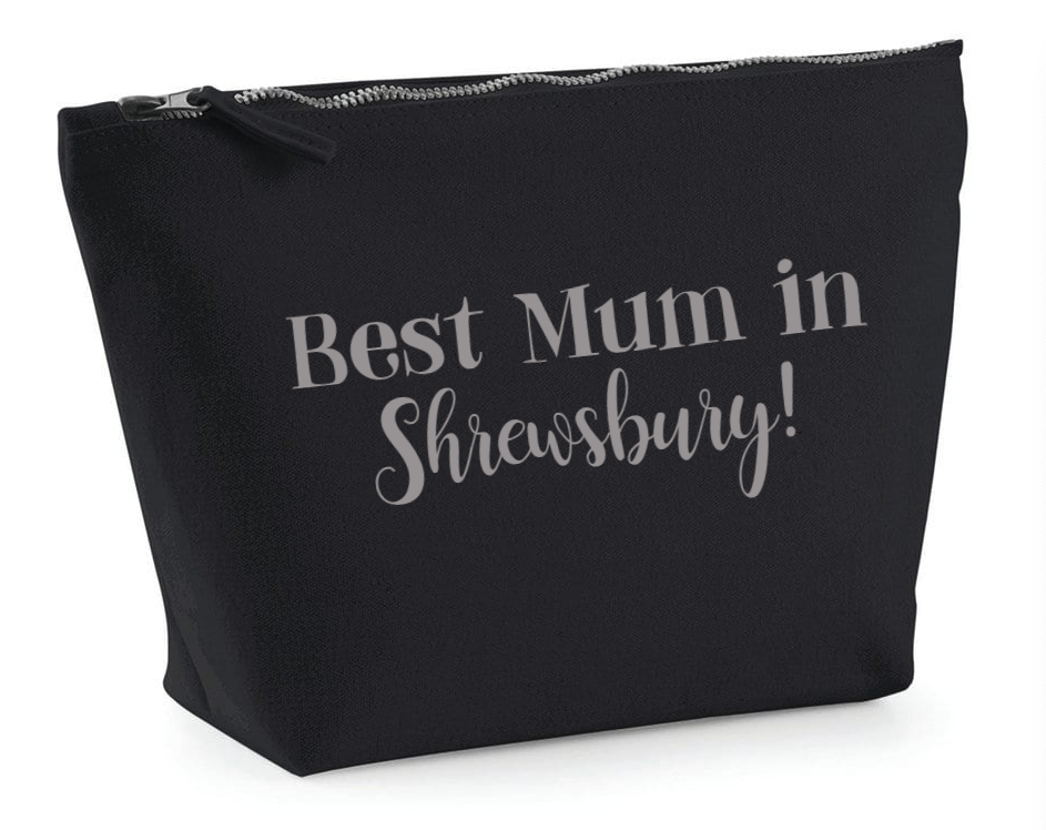 Best Mum in Shrewsbury make up bag