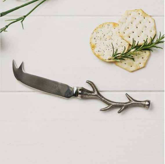 Just Slate Stag Antler Cheese Knife