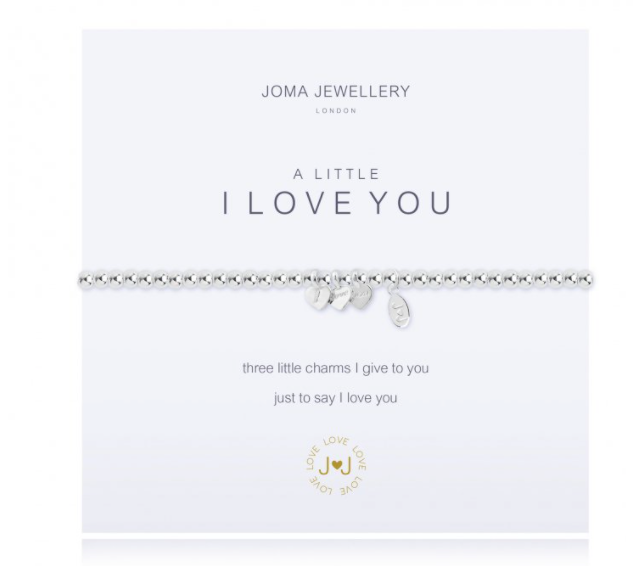 Joma A LITTLE I LOVE YOU bracelet