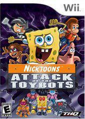 Nicktoons Attack of the Toybots - Wii