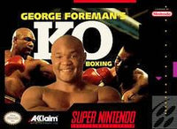 George Foreman's KO Boxing - Super Nintendo - Boxed