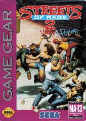 Streets of Rage 2 - Sega Game Gear - Boxed