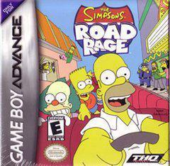 The Simpsons Road Rage - GameBoy Advance - Boxed