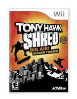 Tony Hawk: Shred - Wii