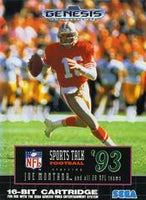 Sports Talk Football '93 Starring Joe Montana - Sega Genesis