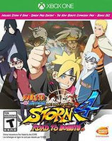 Naruto Shippuden Ultimate Ninja Storm 4 Road to Boruto - Xbox One