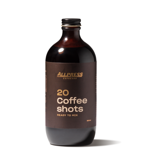 Allpress Coffee Shots Bottle - 6 Pack