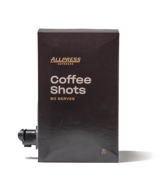 Allpress Coffee Shots - 80 Shots