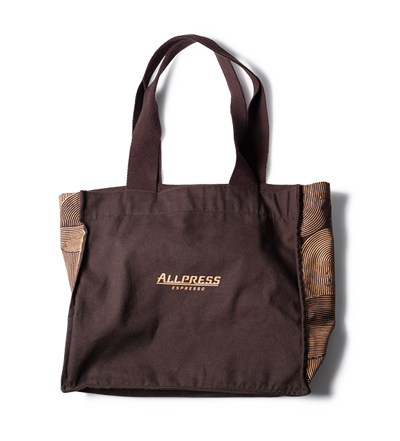 re-wrap x Allpress Organic Tote Bag