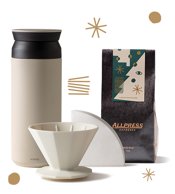 Allpress Christmas On the Move Bundle