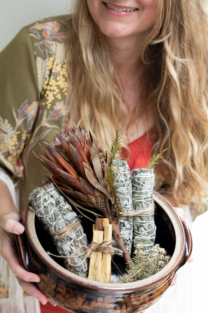 Organic Sage & Lavender Smudge Sticks