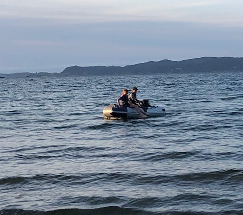 Inflatable boats: So easy, kids can do it!