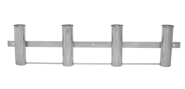 Rod Holder Rack with 4 holders, stainless steel