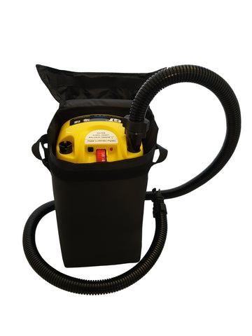 Inflatable boat 12V Rechargeable Electric Air Pump - Rockboat Marine