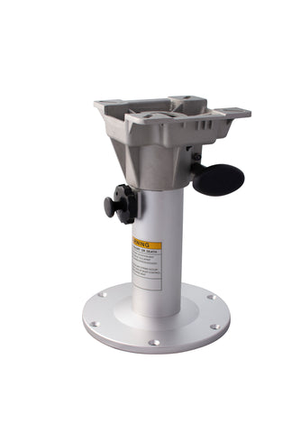 Boat Seat Pedestal, Adjustable Heights. 320 - 470mm