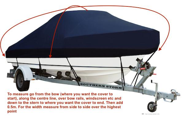 How to size your Boat Cover - Rockboat Marine