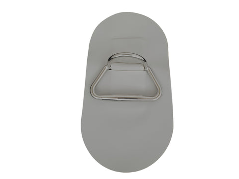 D-Ring with PVC Patch - Large - Rockboat Marine