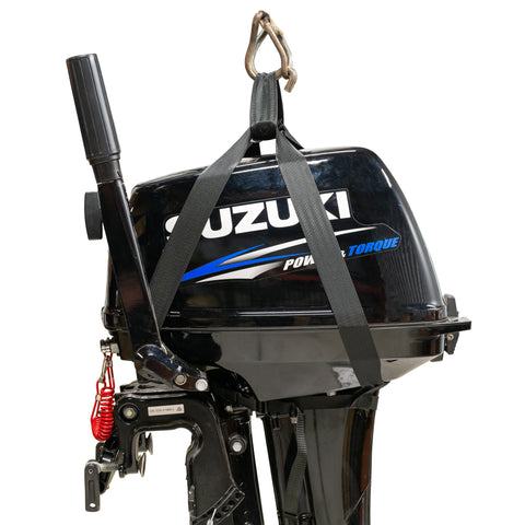 Outboard Motor Lifting Harness