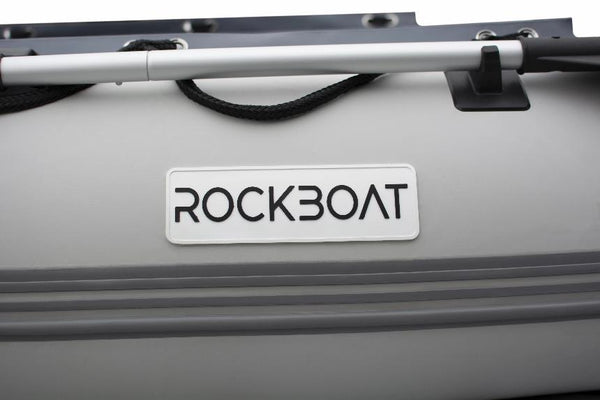 Inflatable Boat Sports Range - Grey/ Dark Grey - Rockboat Marine