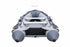Inflatable Boat Sports Range - Grey/ Dark Grey - Rockboat Marine - Back view