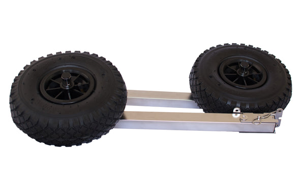 Launching Wheels for Inflatable Boats and Tinnies - Rockboat Marine