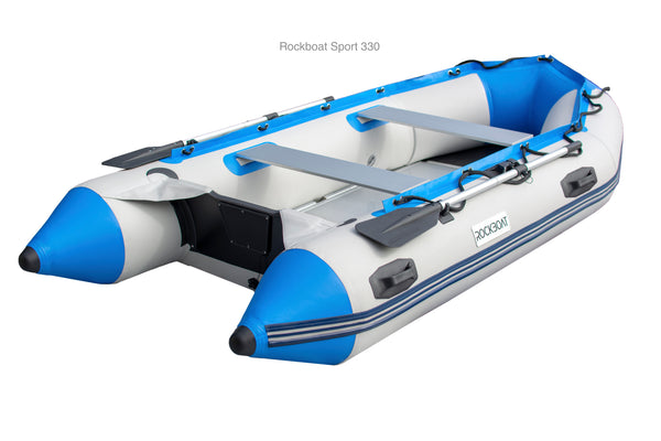 Inflatable Boat Sports Range - Grey/ Blue