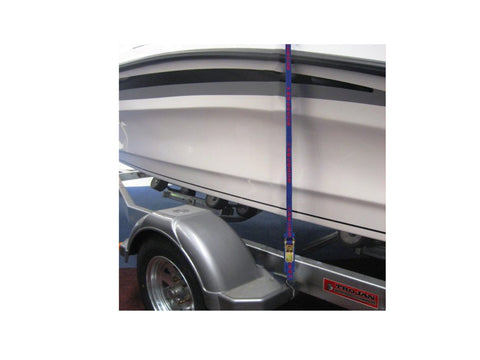Overcentre Ratchet Tiedown, light duty - Rockboat Marine