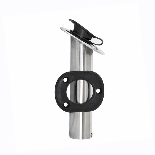 Rod Holder Flush Mount 30 Degree Stainless from Rockboat - Rockboat Marine