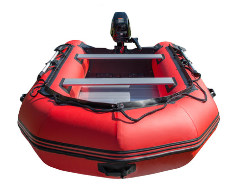 Inflatable Boat Sports Range - Red - Rockboat Marine