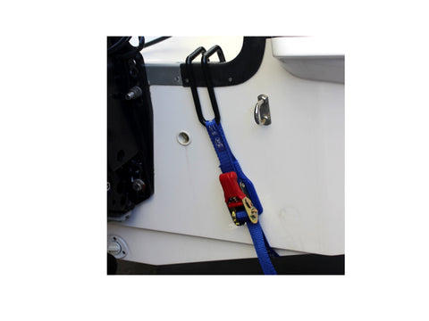 Transom Hook Ratchet Tiedown - TRT