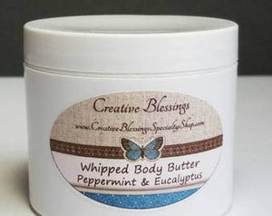 4 oz. Whipped Shea Butter w/Essential Oil