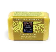 Lemon Sage Shea/Argan Soap