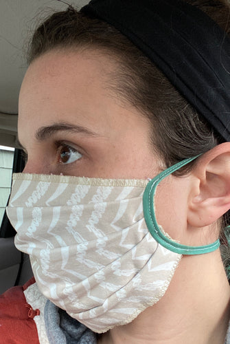 Free Pleated Face Mask