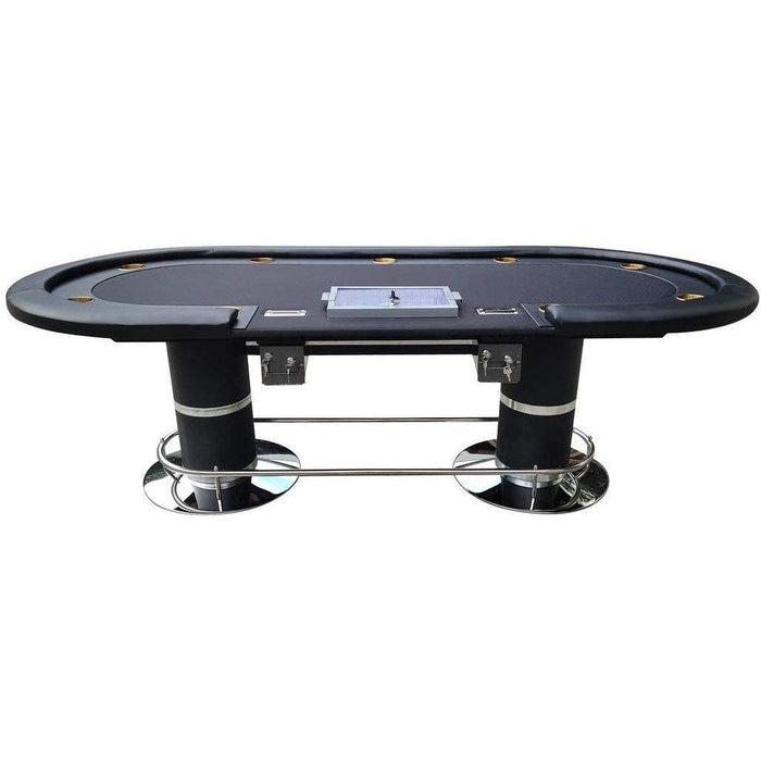 "96"" Dark Knight Poker Table poker"