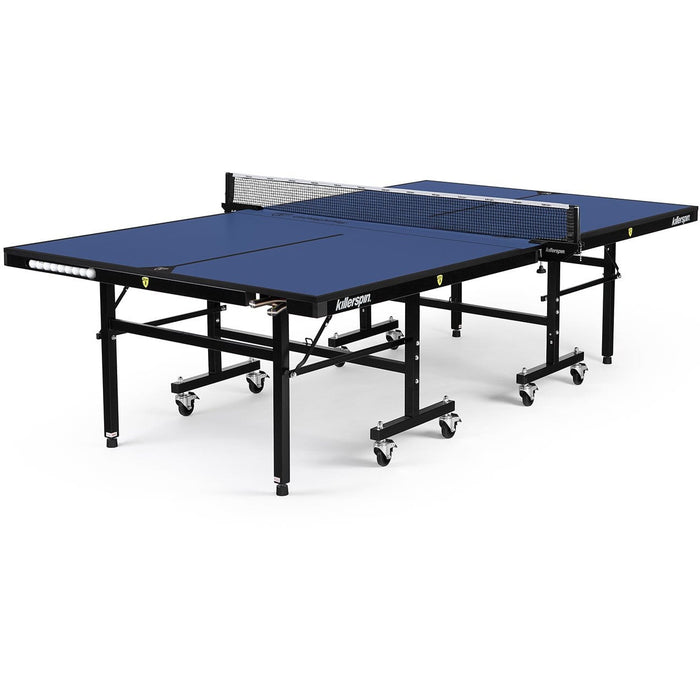 Killerspin MyT 415 Mega DeepBlu Indoor Table Tennis Ping Pong Table 303-04 Table Tennis