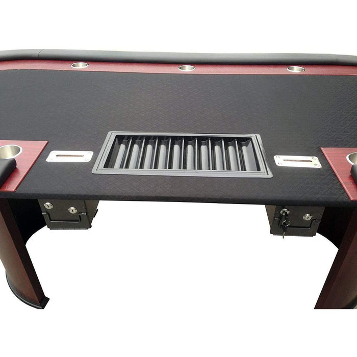 "Poker Table for 96"" x 43"" 10 Players poker"