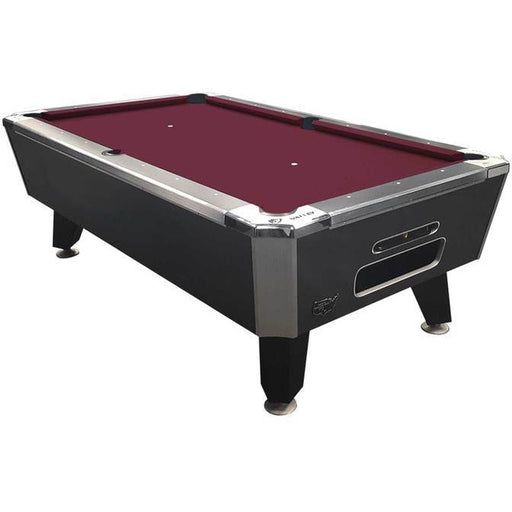 "Valley Panther Black Cat 101"" 8 Foot Billiard Pool Table Charcoal Chromatic Finish HPARG Billiard Table"