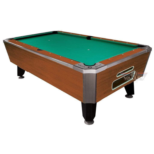 "Valley Panther Cherry 93"" 7 Foot Billiard Pool Table Cherry Finish With Green Cloth HPBCH Billiard Table"