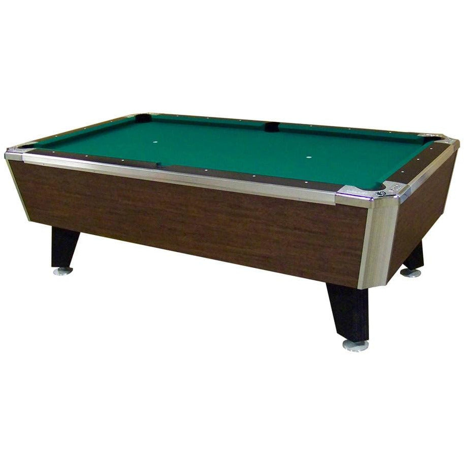 "Valley Panther Highland Maple 93"" 7 Foot Billiard Pool Table With Green Cloth HEBHM Billiard Table"