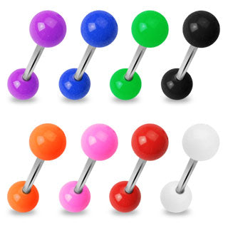 Solid UV Barbell