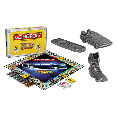 Back to the Future Monopoly Version Anglaise seulement / Version English Only