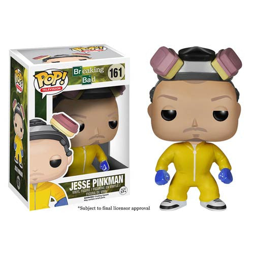 Breaking Bad Jesse Pinkman Cook Suit Pop! Vinyl Figure