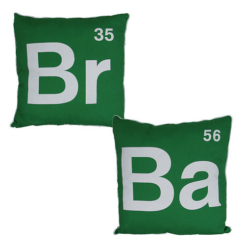 Breaking Bad Logo 12-Inch Plush Pillow Case