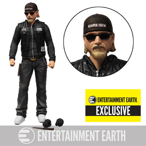 Sons of Anarchy Jax Teller 6-Inch Variant Action Figure with Sunglasses and Hat Case - EE Exclusive