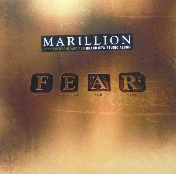 Marillion - FEAR (F*** Everyone And Run)