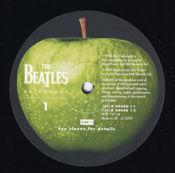 The Beatles - Anthology 1 – Puce Rock
