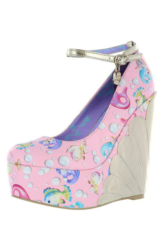 Lollipop Lorelei Wedge ❤ Pink